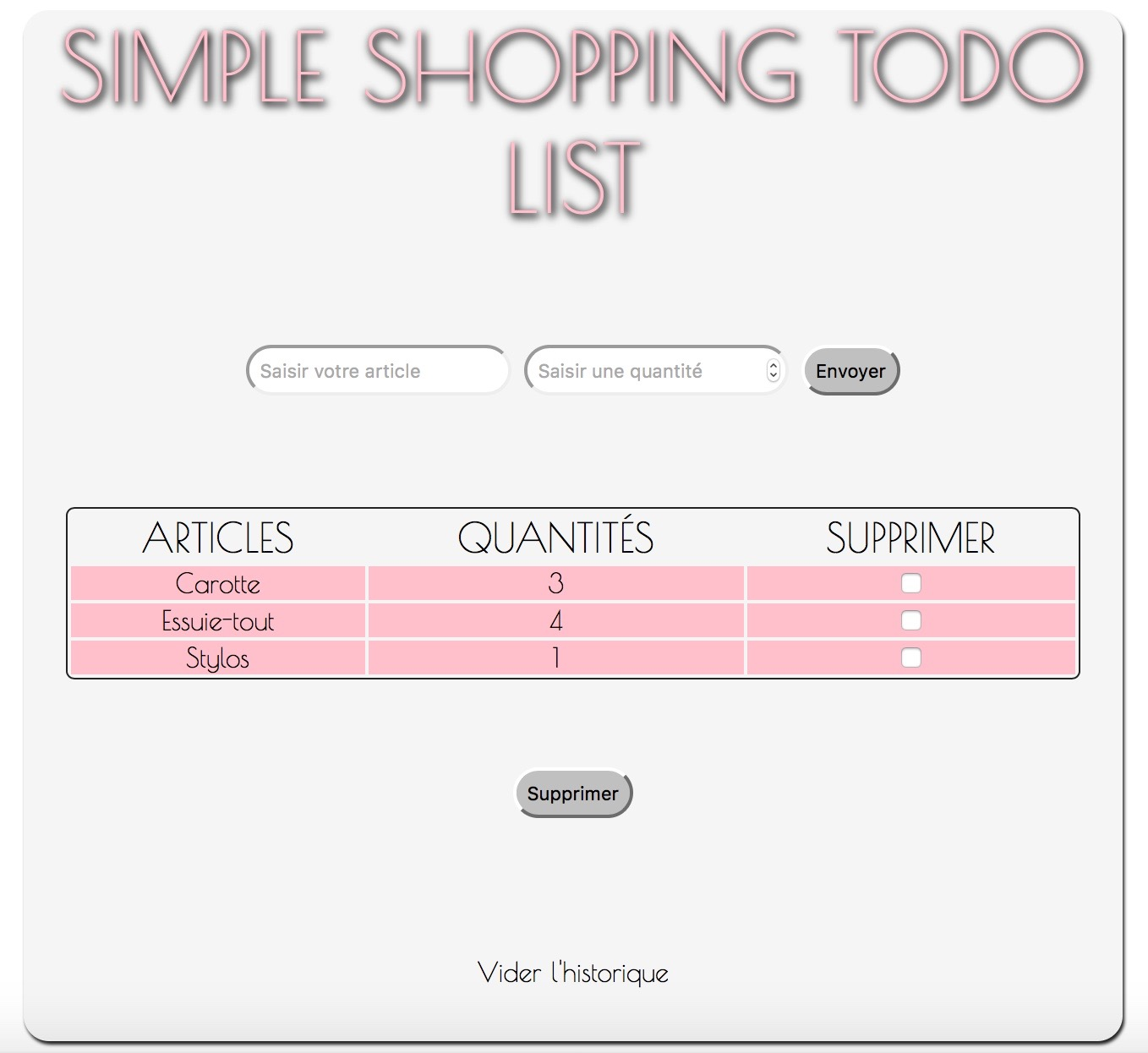 miniature shop list witdh php
